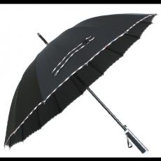16K 체크 바이어스 우산